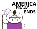 America Finally ends thumb